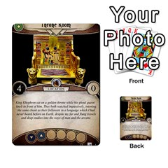 Arkham Lcg: Sphinx & Sands By Mattarkham   Multi Purpose Cards (rectangle)   H76d2y926uyu   Www Artscow Com Front 9