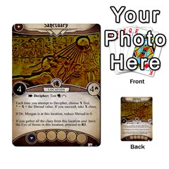 Arkham Lcg: Sphinx & Sands By Mattarkham   Multi Purpose Cards (rectangle)   H76d2y926uyu   Www Artscow Com Front 12