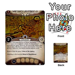 Arkham Lcg: Sphinx & Sands By Mattarkham   Multi Purpose Cards (rectangle)   H76d2y926uyu   Www Artscow Com Front 13