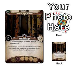 Arkham Lcg: Sphinx & Sands By Mattarkham   Multi Purpose Cards (rectangle)   H76d2y926uyu   Www Artscow Com Front 15