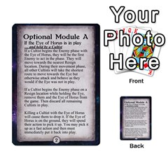 Arkham Lcg: Sphinx & Sands By Mattarkham   Multi Purpose Cards (rectangle)   H76d2y926uyu   Www Artscow Com Front 3