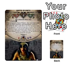 Arkham Lcg: Sphinx & Sands By Mattarkham   Multi Purpose Cards (rectangle)   H76d2y926uyu   Www Artscow Com Front 23