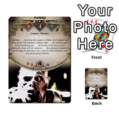 Arkham Lcg: Sphinx & Sands By Mattarkham   Multi Purpose Cards (rectangle)   H76d2y926uyu   Www Artscow Com Front 24