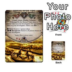 Arkham Lcg: Sphinx & Sands By Mattarkham   Multi Purpose Cards (rectangle)   H76d2y926uyu   Www Artscow Com Front 30