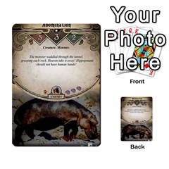 Arkham Lcg: Sphinx & Sands By Mattarkham   Multi Purpose Cards (rectangle)   H76d2y926uyu   Www Artscow Com Front 32