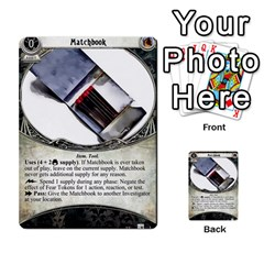 Arkham Lcg: Sphinx & Sands By Mattarkham   Multi Purpose Cards (rectangle)   H76d2y926uyu   Www Artscow Com Front 36