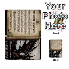 Arkham Lcg: Sphinx & Sands By Mattarkham   Multi Purpose Cards (rectangle)   H76d2y926uyu   Www Artscow Com Front 40