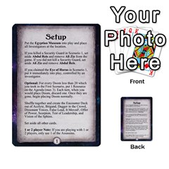 Arkham Lcg: Sphinx & Sands By Mattarkham   Multi Purpose Cards (rectangle)   H76d2y926uyu   Www Artscow Com Front 5