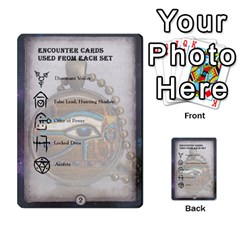 Arkham Lcg: Sphinx & Sands By Mattarkham   Multi Purpose Cards (rectangle)   H76d2y926uyu   Www Artscow Com Front 45