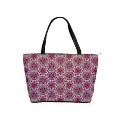 Star And Crystal Shapes 01 Shoulder Handbags by Cveti