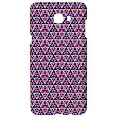 Snowflake And Crystal Shapes 5 Samsung C9 Pro Hardshell Case  by Cveti