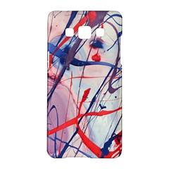 Messy Love Samsung Galaxy A5 Hardshell Case  by LaurenTrachyArt