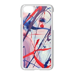 Messy Love Apple Iphone 8 Seamless Case (white) by LaurenTrachyArt