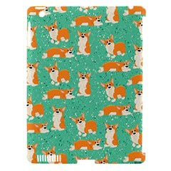 Corgi Dog Wrap Apple Ipad 3/4 Hardshell Case (compatible With Smart Cover) by Celenk