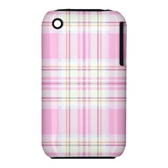 Pink Pastel Plaid Iphone 3s/3gs by allthingseveryone