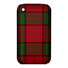 Red And Green Tartan Plaid Iphone 3s/3gs by allthingseveryone
