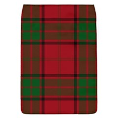 Red And Green Tartan Plaid Flap Covers (l)  by allthingseveryone