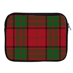 Red And Green Tartan Plaid Apple Ipad 2/3/4 Zipper Cases by allthingseveryone