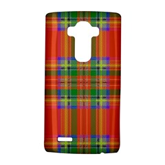 Orange And Green Plaid Lg G4 Hardshell Case by allthingseveryone