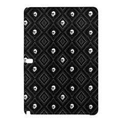 Funny Little Skull Pattern, B&w Samsung Galaxy Tab Pro 12 2 Hardshell Case by MoreColorsinLife