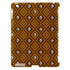 Funny Little Skull Pattern, Golden Apple Ipad 3/4 Hardshell Case (compatible With Smart Cover) by MoreColorsinLife