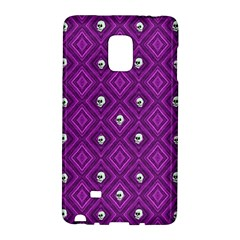 Funny Little Skull Pattern, Purple Galaxy Note Edge by MoreColorsinLife