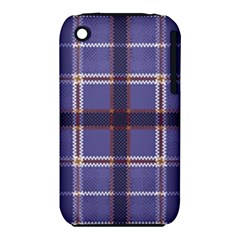 Purple Heather Plaid Iphone 3s/3gs by allthingseveryone