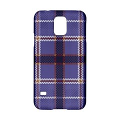 Purple Heather Plaid Samsung Galaxy S5 Hardshell Case  by allthingseveryone