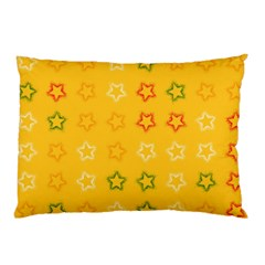 Spray Stars Pattern B Pillow Case by MoreColorsinLife