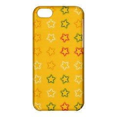 Spray Stars Pattern B Apple Iphone 5c Hardshell Case by MoreColorsinLife