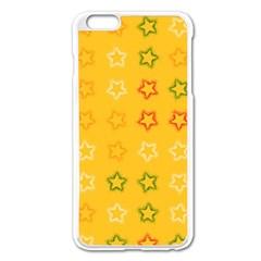 Spray Stars Pattern B Apple Iphone 6 Plus/6s Plus Enamel White Case by MoreColorsinLife