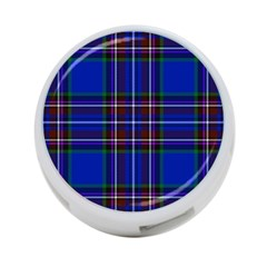 Bright Blue Plaid 4 Port Usb Hub (one Side) by allthingseveryone