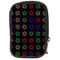 Spray Stars Pattern A Compact Camera Cases by MoreColorsinLife