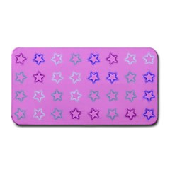 Spray Stars Pattern C Medium Bar Mats by MoreColorsinLife
