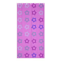 Spray Stars Pattern C Shower Curtain 36  X 72  (stall)  by MoreColorsinLife