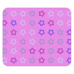 Spray Stars Pattern C Double Sided Flano Blanket (small)  by MoreColorsinLife