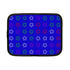 Spray Stars Pattern E Netbook Case (small)  by MoreColorsinLife