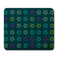 Spray Stars Pattern F Large Mousepads