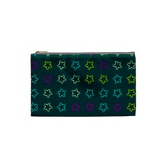 Spray Stars Pattern F Cosmetic Bag (small)  by MoreColorsinLife