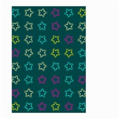 Spray Stars Pattern F Small Garden Flag (two Sides)