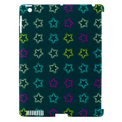 Spray Stars Pattern F Apple Ipad 3/4 Hardshell Case (compatible With Smart Cover) by MoreColorsinLife