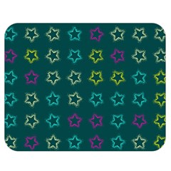Spray Stars Pattern F Double Sided Flano Blanket (medium)  by MoreColorsinLife