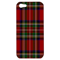 Red Tartan Plaid Apple Iphone 5 Hardshell Case by allthingseveryone