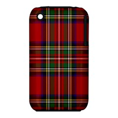 Red Tartan Plaid Iphone 3s/3gs by allthingseveryone