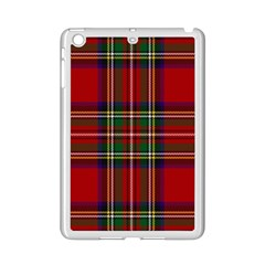 Red Tartan Plaid Ipad Mini 2 Enamel Coated Cases by allthingseveryone