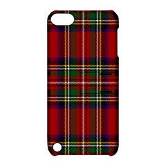 Red Tartan Plaid Apple Ipod Touch 5 Hardshell Case With Stand by allthingseveryone