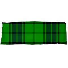 Green And Blue Plaid Body Pillow Case Dakimakura (two Sides) by allthingseveryone