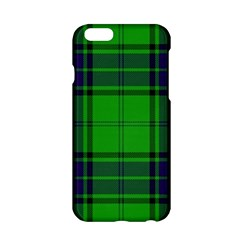 Green And Blue Plaid Apple Iphone 6/6s Hardshell Case by allthingseveryone