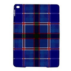 Blue Heather Plaid Ipad Air 2 Hardshell Cases by allthingseveryone