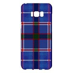 Blue Heather Plaid Samsung Galaxy S8 Plus Hardshell Case  by allthingseveryone